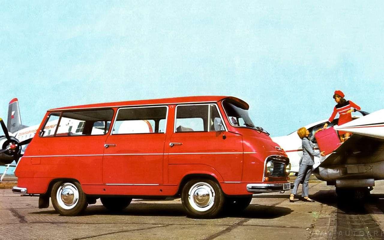 Тотсамый «рафик»: полная история главного микроавтобуса СССР— фото 1218827