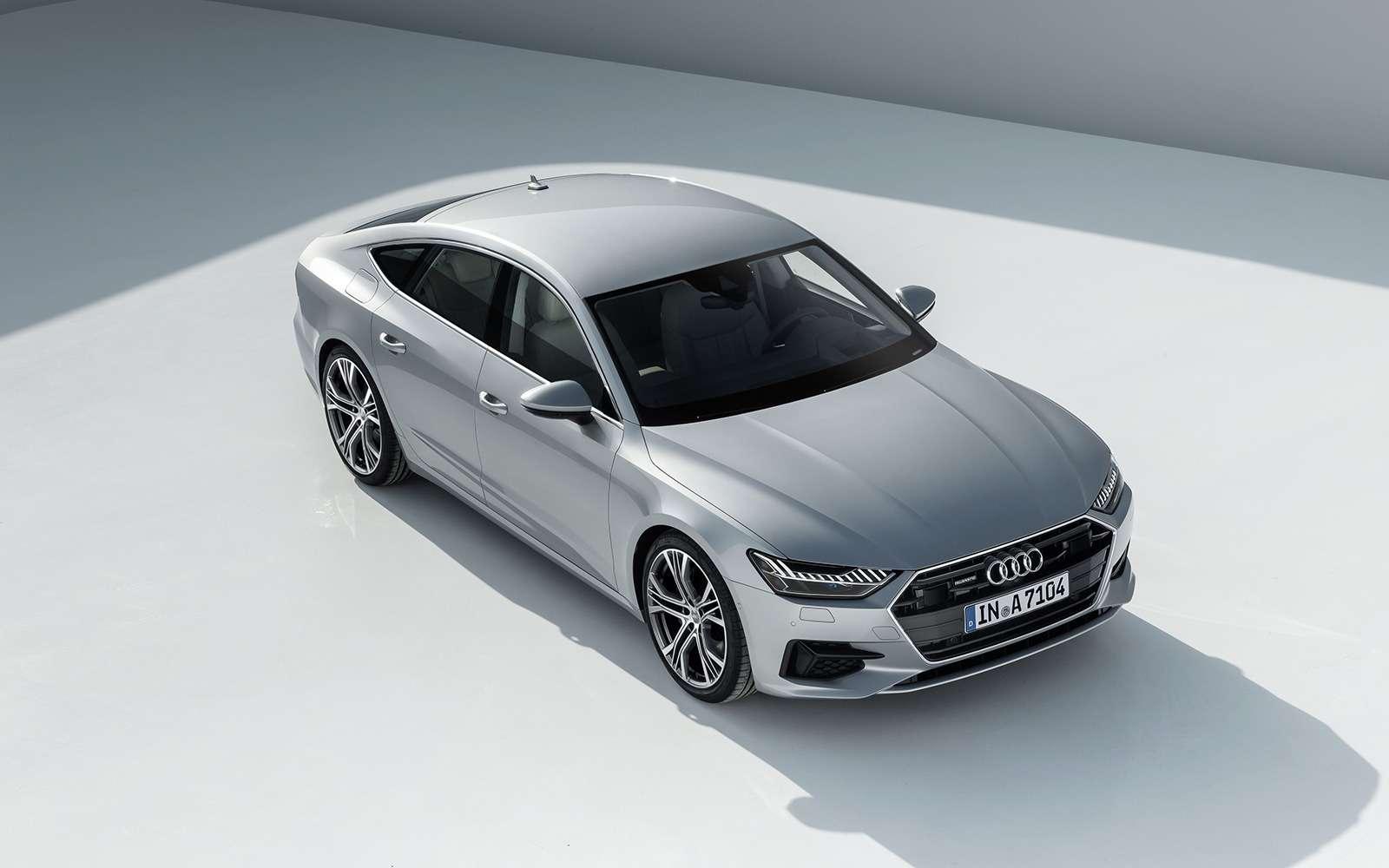 Новая Audi A7Sportback— вся насенсорах— фото 807147