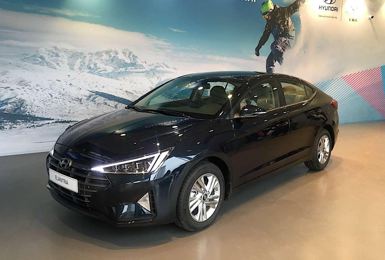 Hyundai назвала российские цены наобновленную Элантру— фото 956275