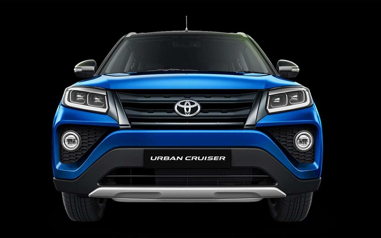 Новый кроссовер Toyota: набазе Suzuki!— фото 1161620