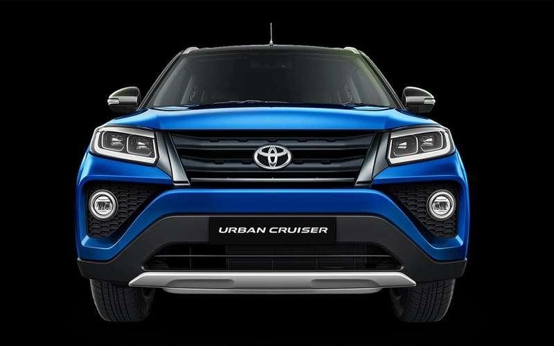 Новый кроссовер Toyota: набазе Suzuki!