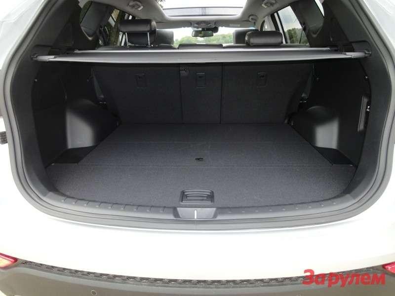 Багажник 5-местной версии