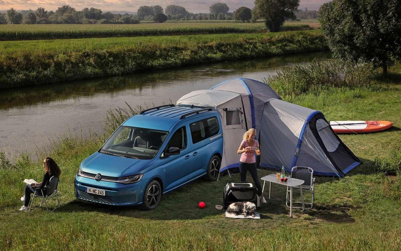 VWпоказал новый кемпер Caddy California— фото 1165241