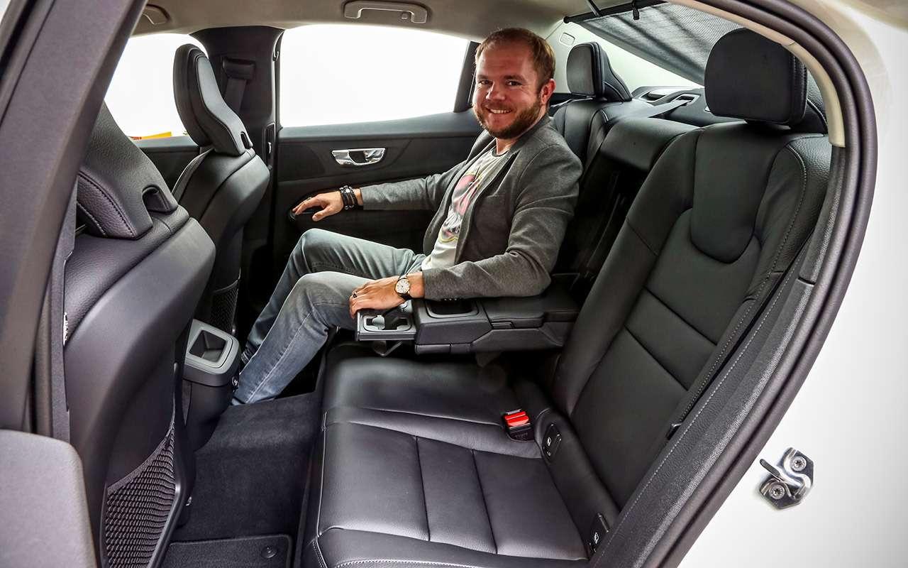 Новый Volvo S60: много плюсов и4минуса (несчитая цену)— фото 1005786