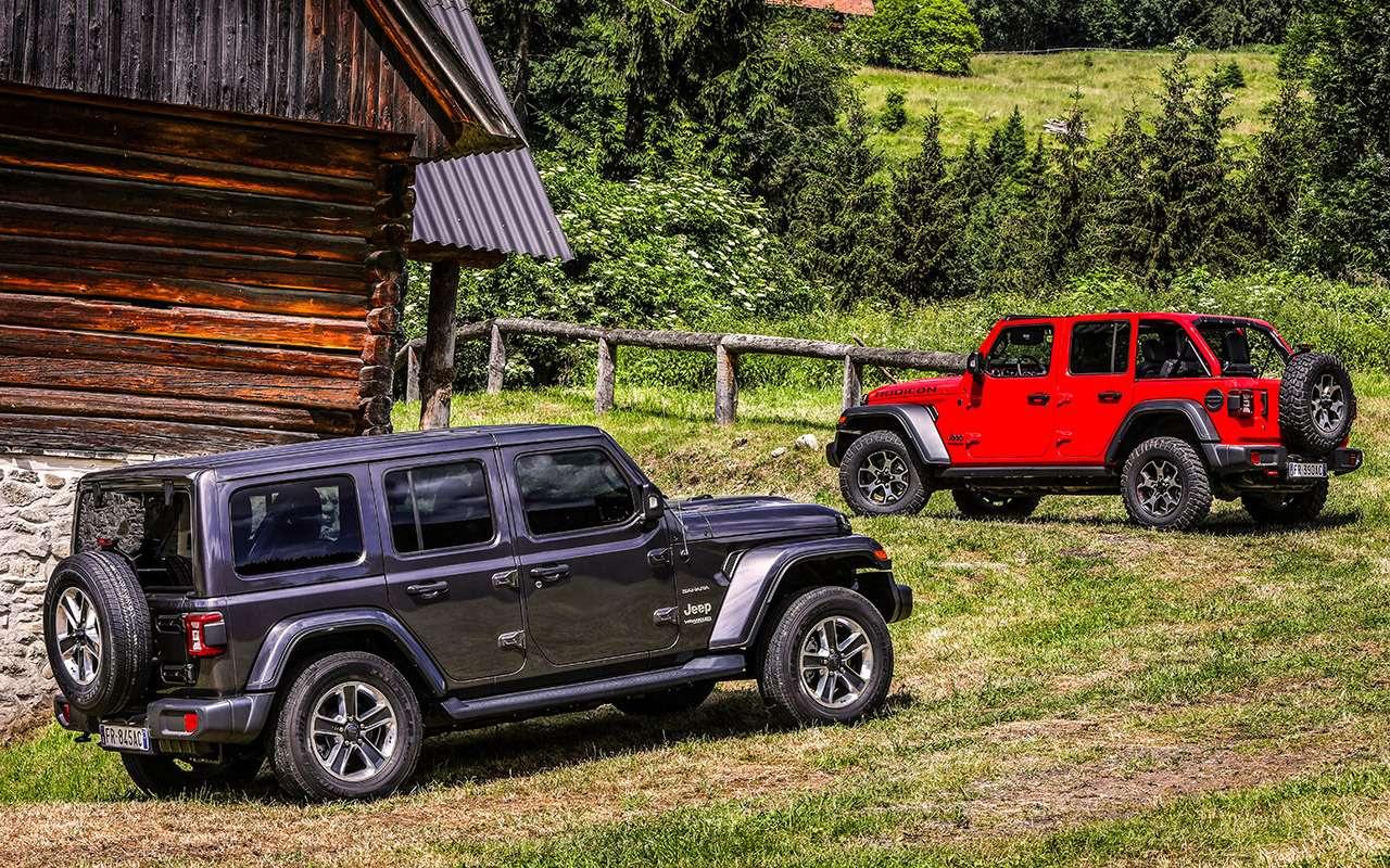 Новый Jeep Wrangler— этот «проходимец» верен себе— фото 893438