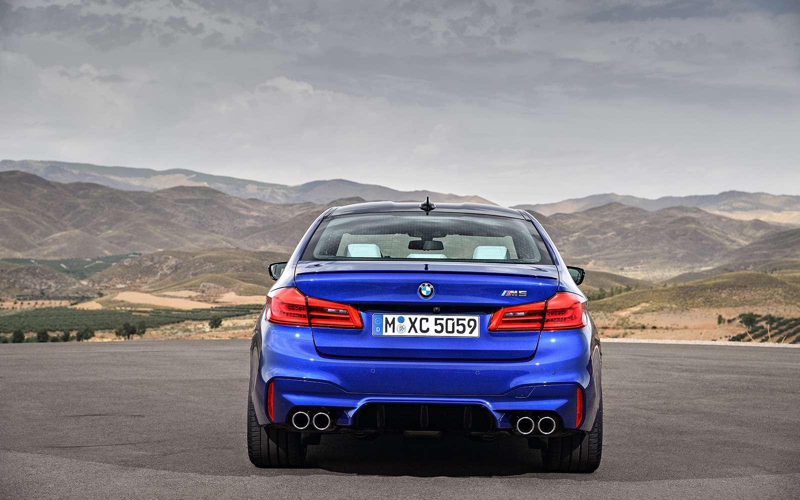 Новый BMW M5: спортседан накаждый день (идлядрифта)— фото 786410