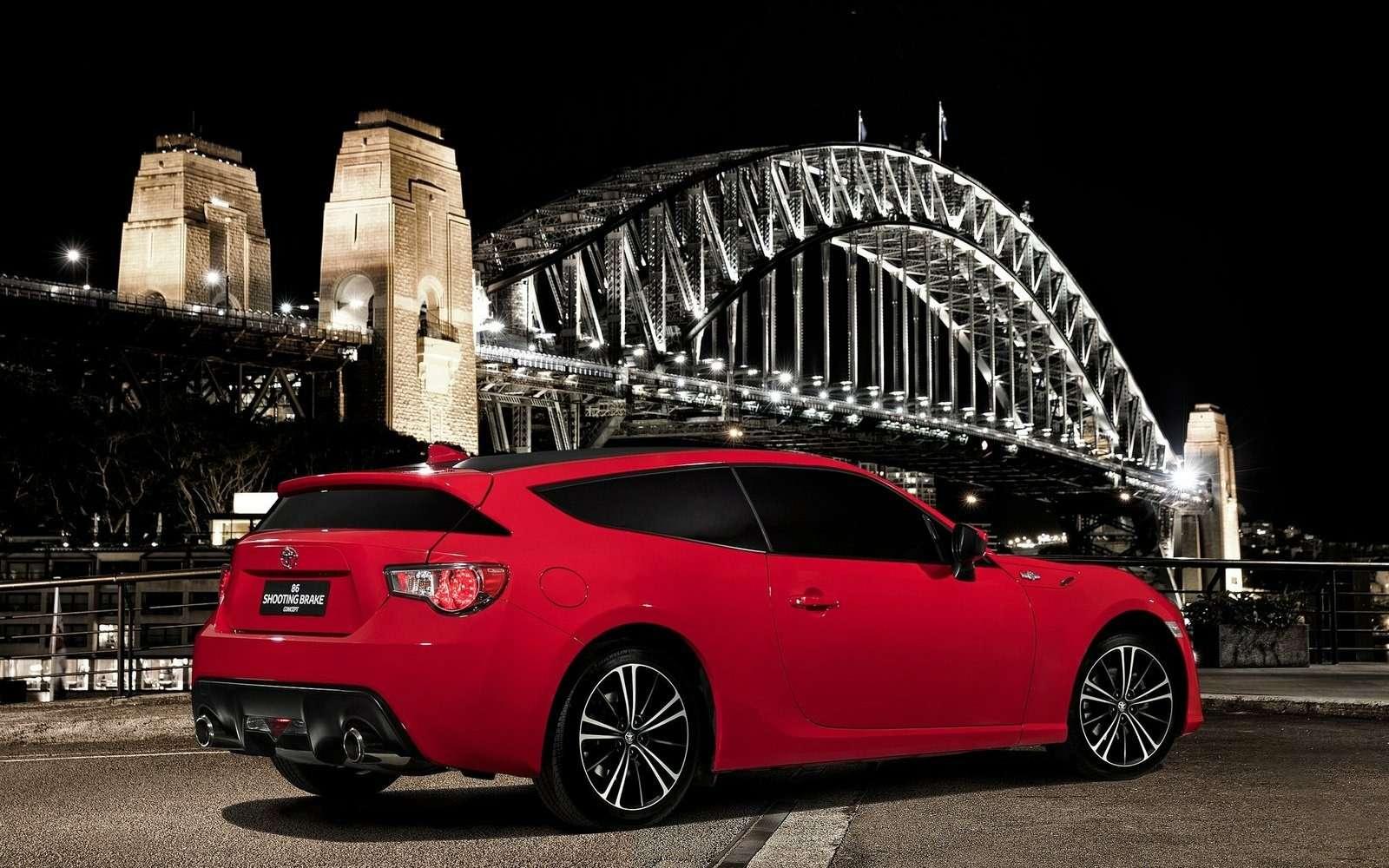 Toyota 86Shooting Brake: элегантный «обрубок» изАвстралии— фото 584790