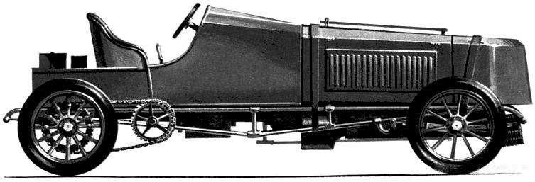 1 gobron brillie 1903 land speed rekord car nocopyright