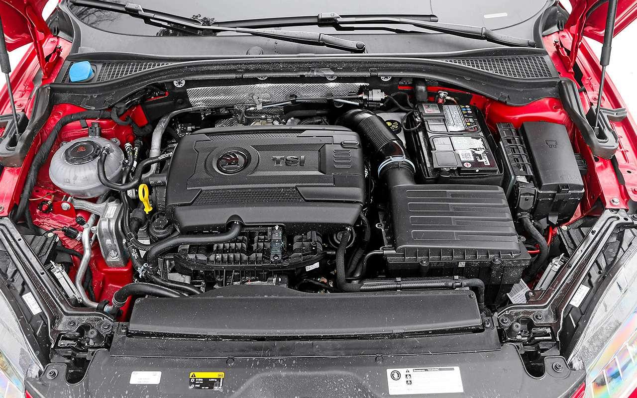 KiaStinger иSkoda Superb: тест быстрых лифтбеков— фото 873232