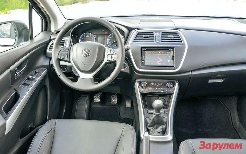 Suzuki New SX4 салон