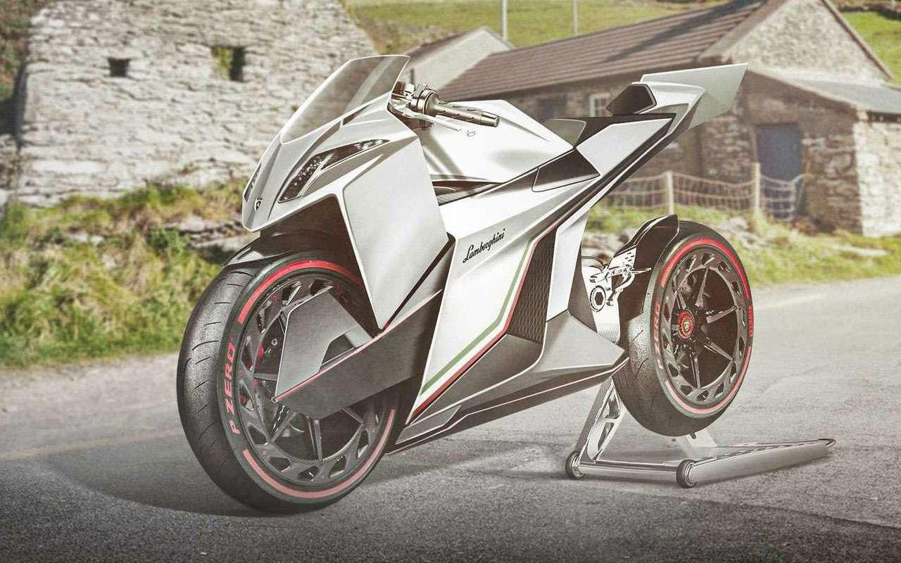Еслибы создатели суперкаров выпускали мотоциклы— фото 1223229