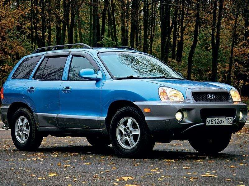 Комплектация Hyundai Santa Fe: Говорящая фамилия— фото 90660
