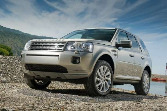 Land Rover Freelander side-front view