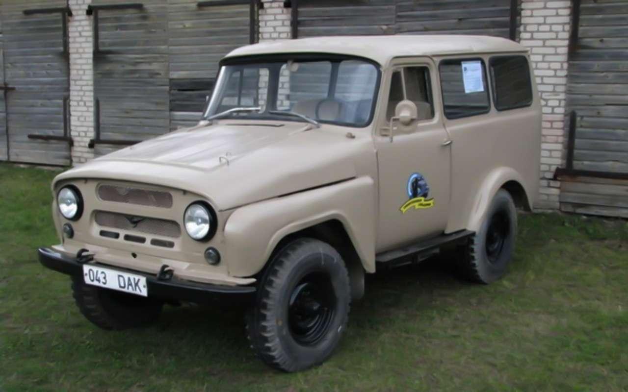«Козлик» УАЗ-469— таких модификаций выточно не видели!— фото 978727