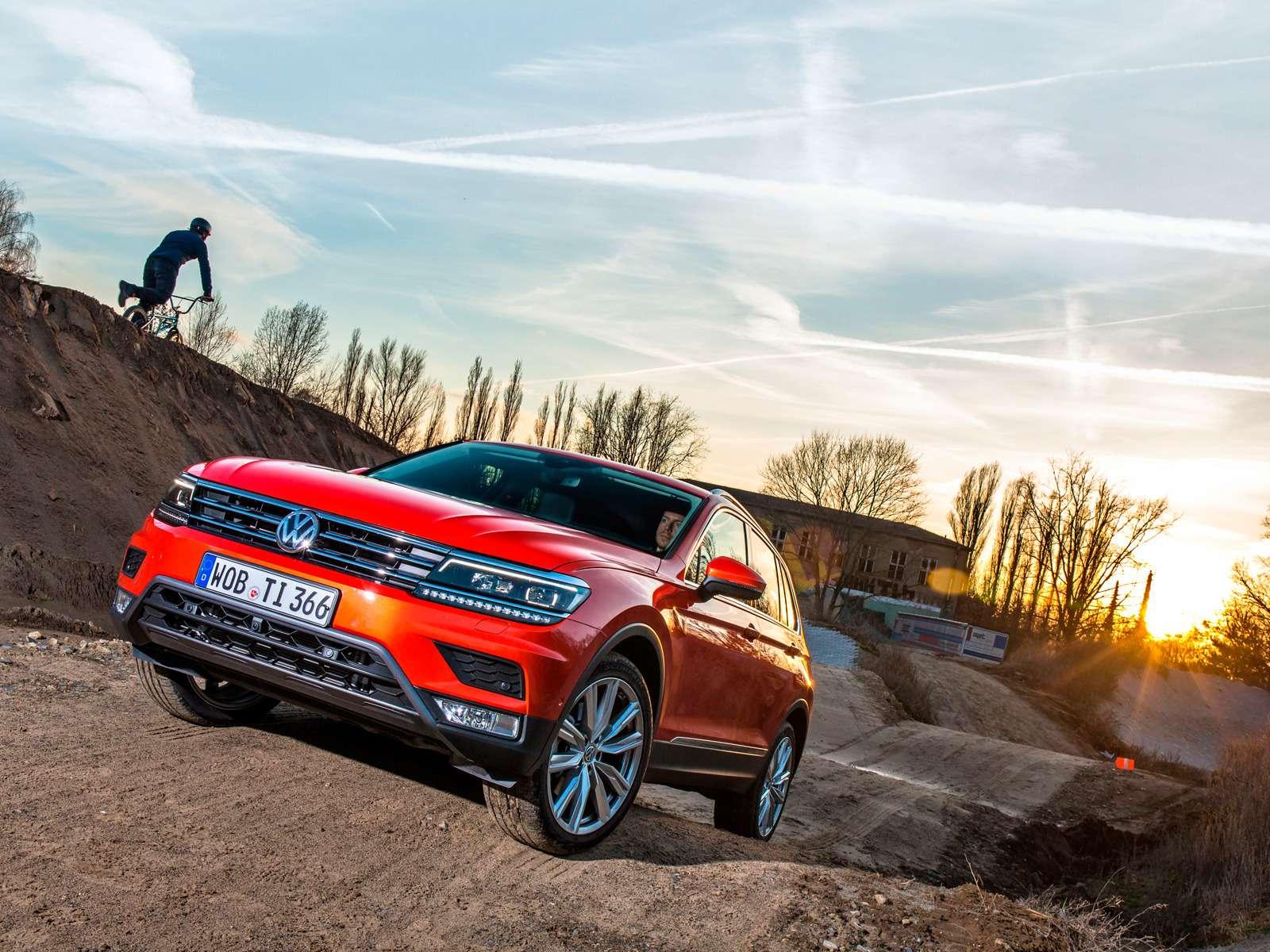 Тест нового Volkswagen Tiguan: победа экологов надавтоспортсменами— фото 594452