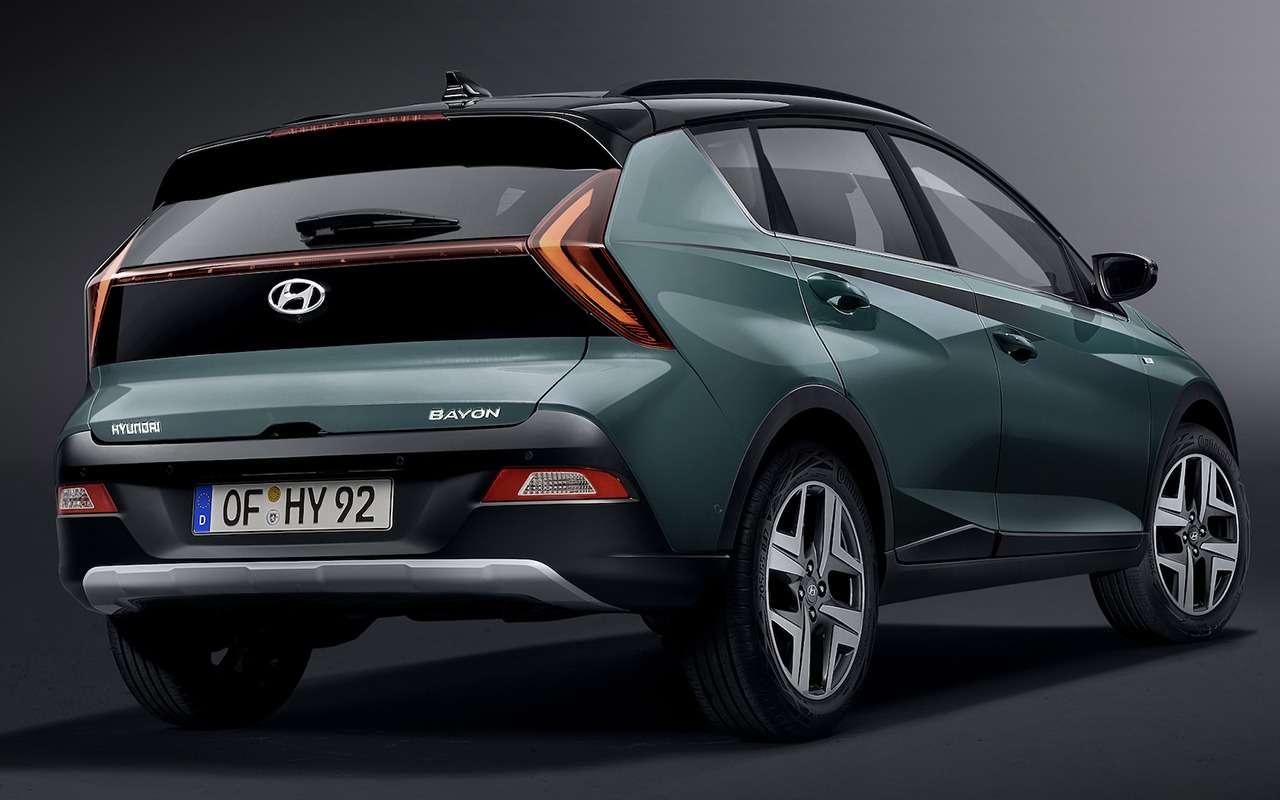 Кроссовер Hyundai Bayon: создан недлябездорожья— фото 1227591