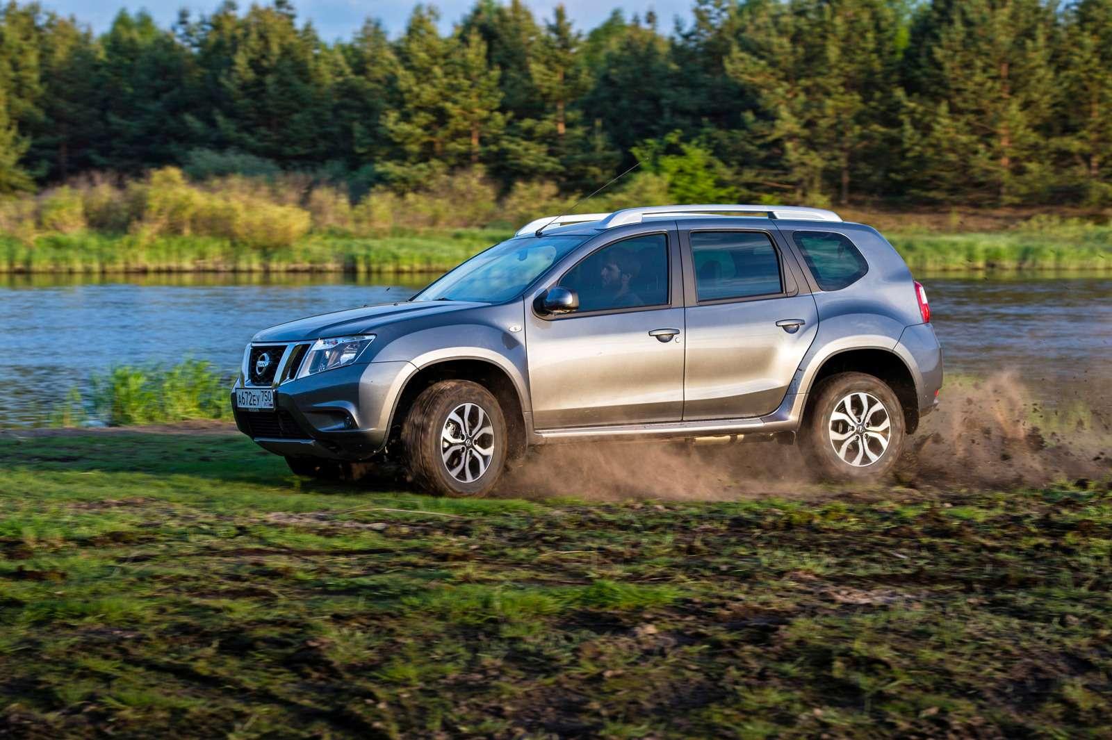 Nissan Terrano сновыми моторами: эко-невидаль— фото 592837