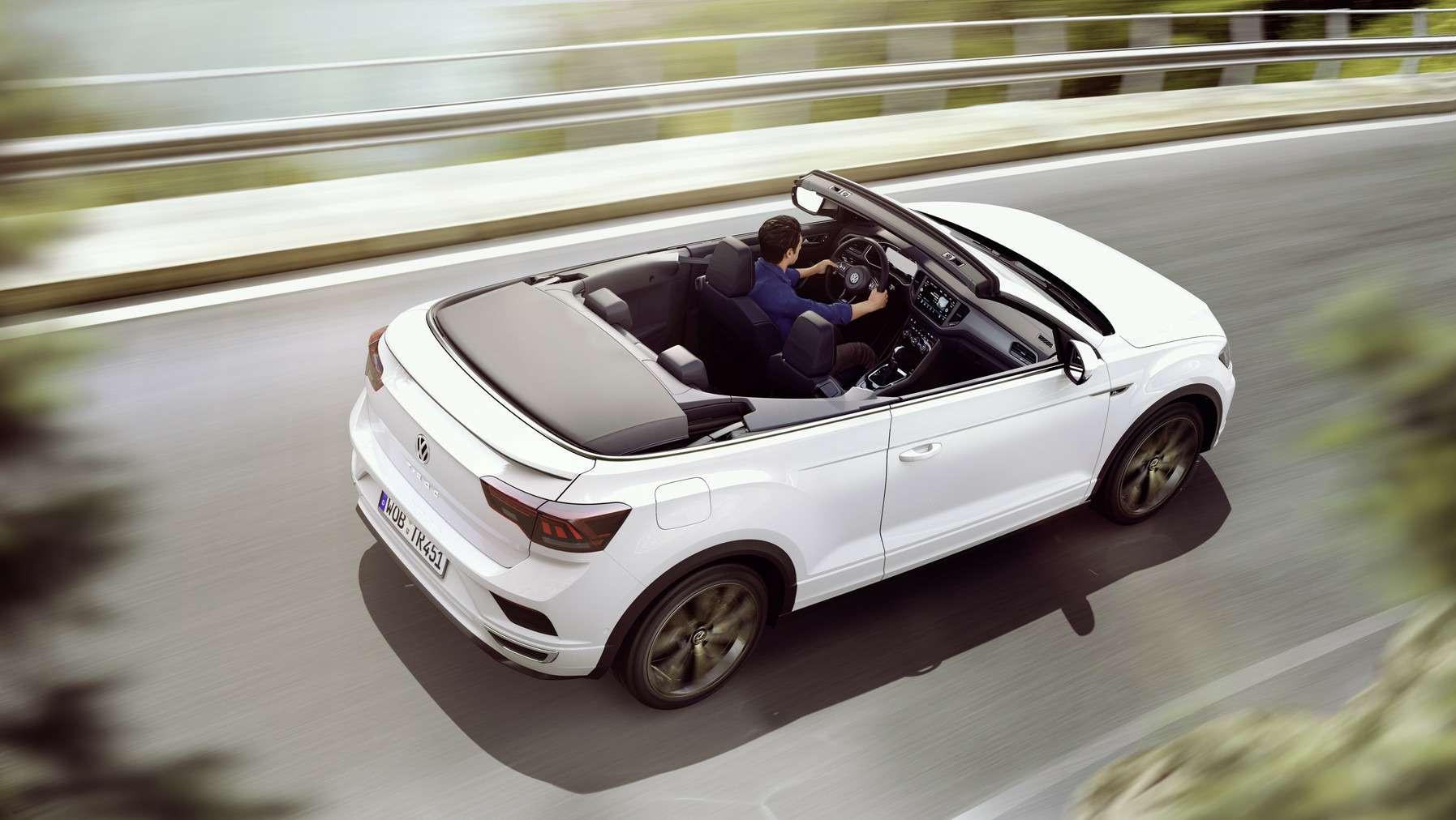 Volkswagen выпустил новый кабриолет. Набазе кроссовера— фото 992996