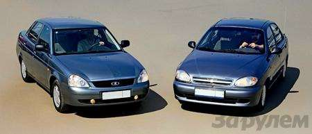Блицтест Lada Priora, Chevrolet Lanos: Кредит доверия— фото 345000