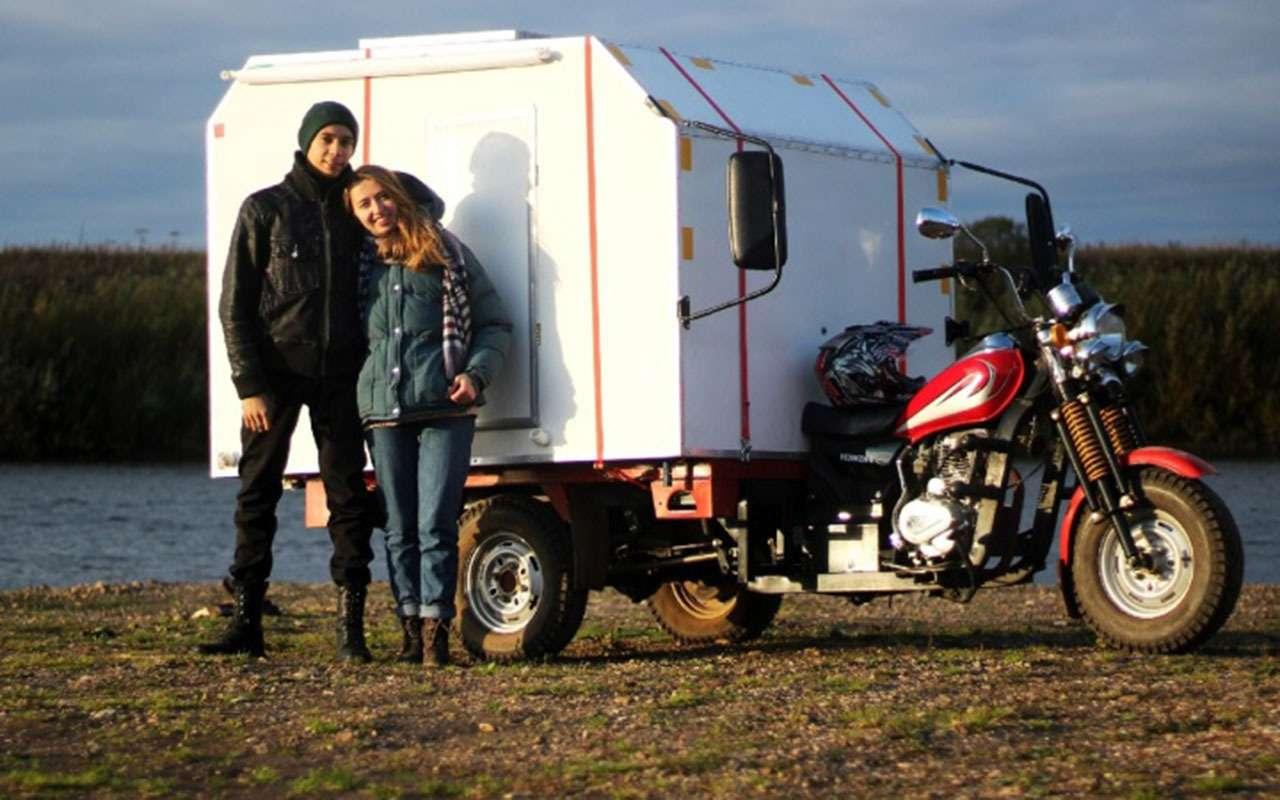 Домнатрех колесах: кемпер намотоцикле— фото 1197811
