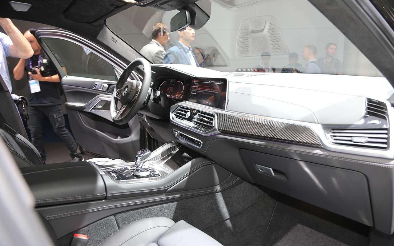 Новый BMW X6 с памятью на последние 50 м пути: это как? — фото 995365