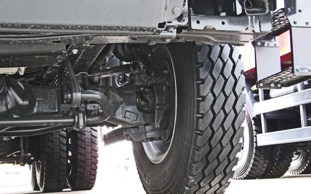 Mercedes Arocs российской сборки— детальный обзор— фото 1279144