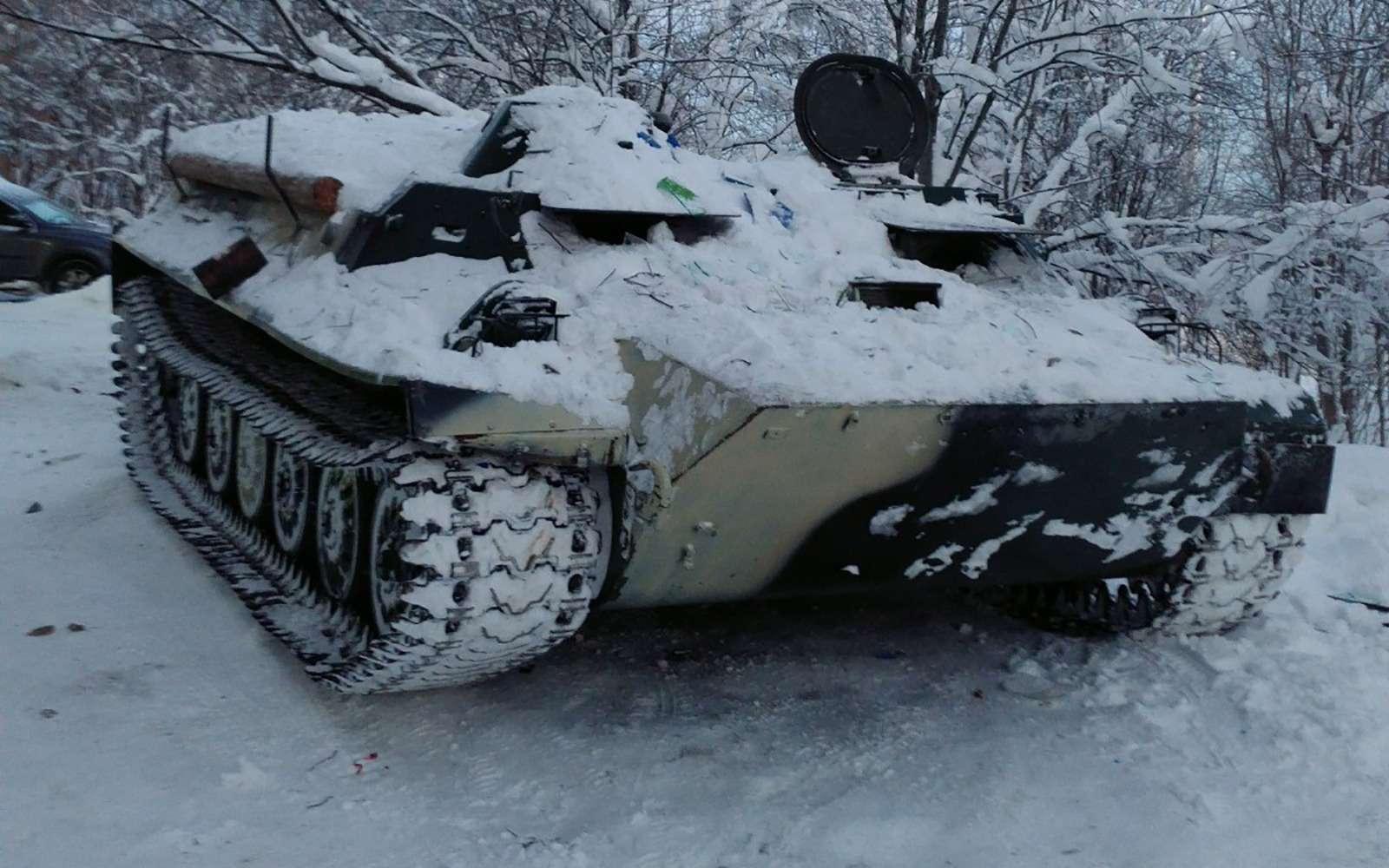 Самое необычное ДТП года: на«танке» завином— фото 834455