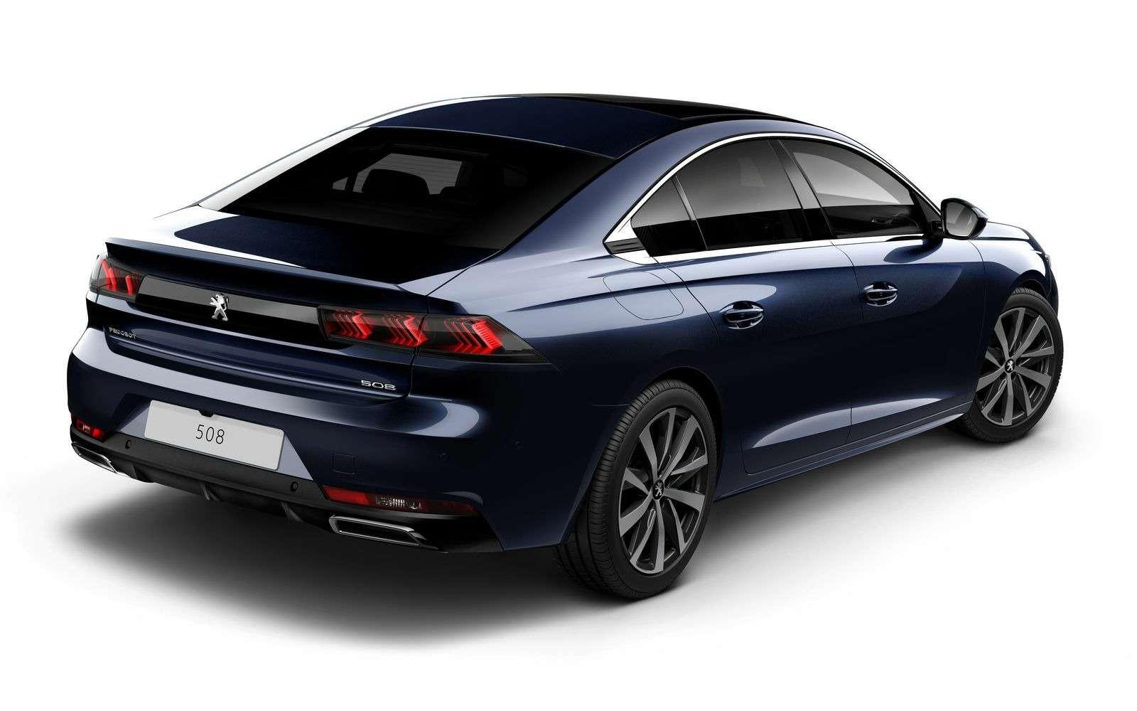 Новый Peugeot 508: французы хотят конкурировать сAudi— фото 847586