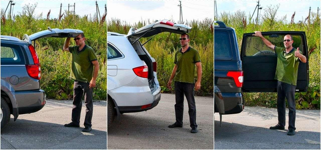 Foton Sauvana, DWHower H3или УАЗ Патриот— тест ЗР— фото 804680