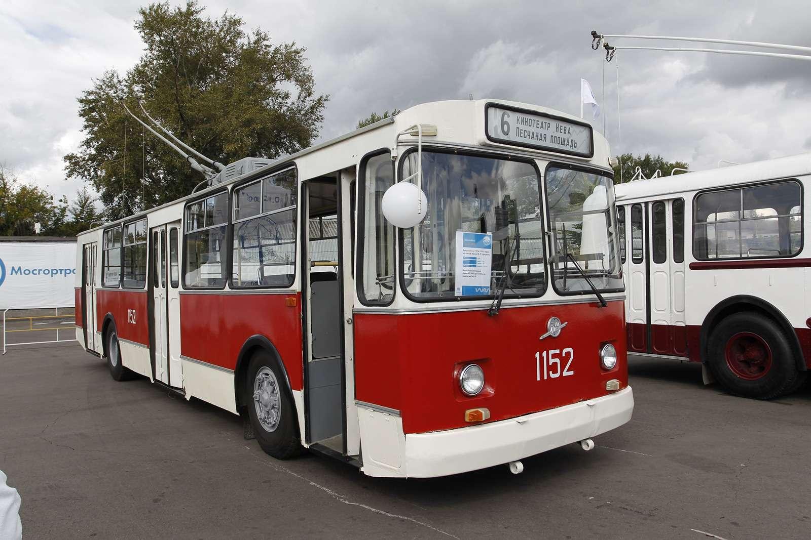 Автобусы нашего детства— выставка пассажирского транспорта— фото 792647