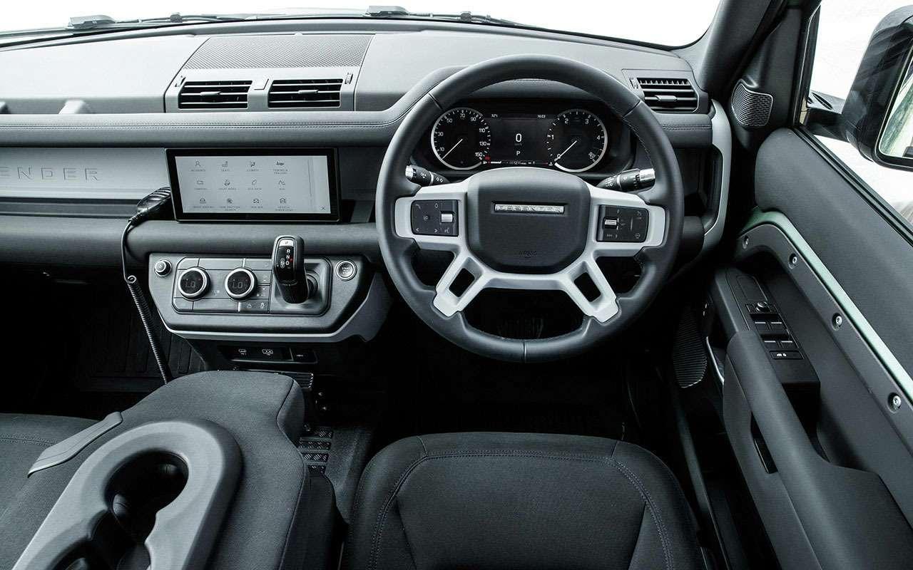 Land Rover Defender 2020: большой африканский тест— фото 1114511