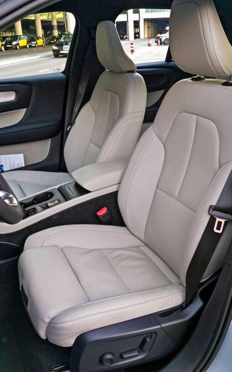 Новый кроссовер Volvo XC40— тест-драйв «Зарулем»— фото 838112