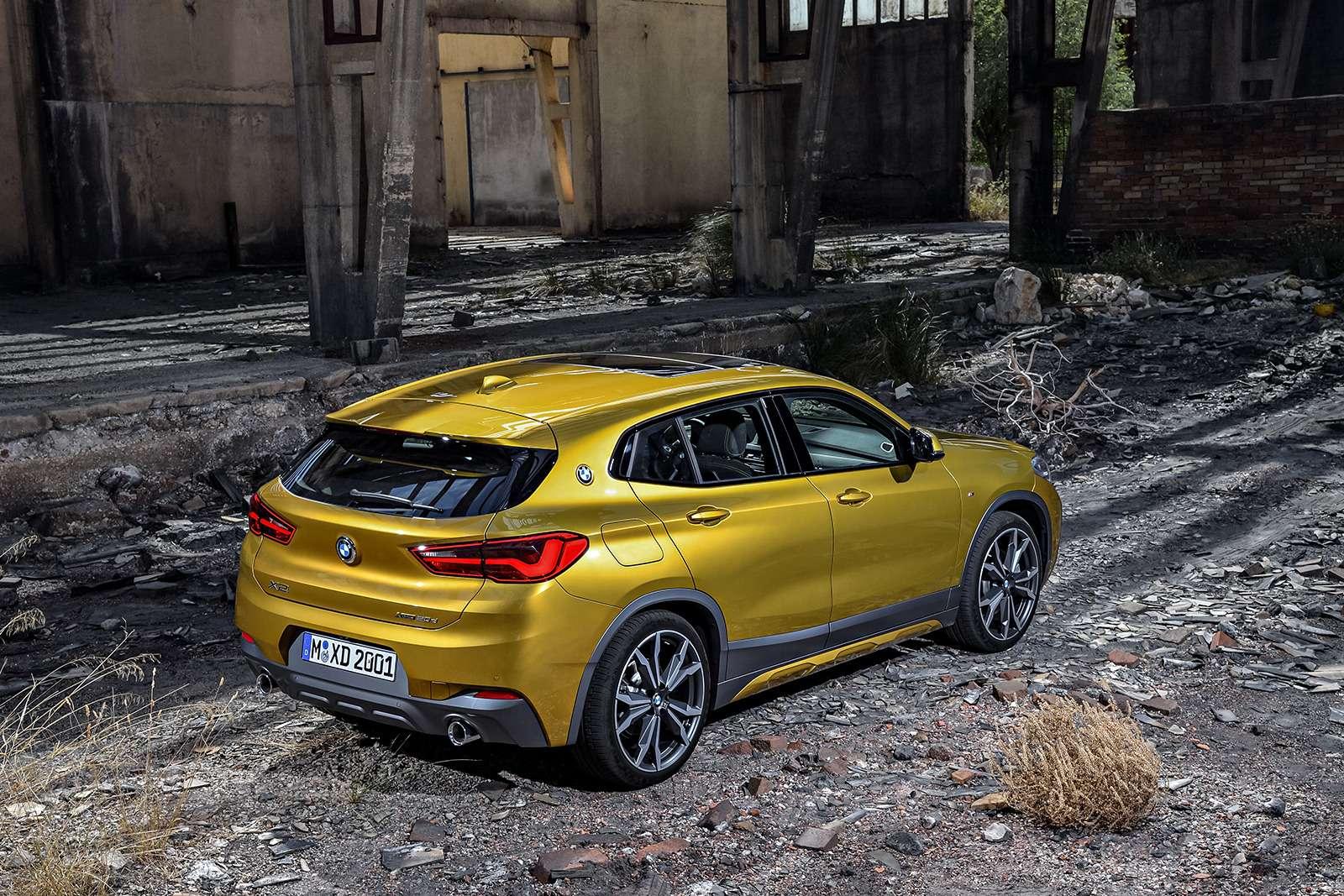 BMWрассекретила российские цены накроссовер X2— фото 809834