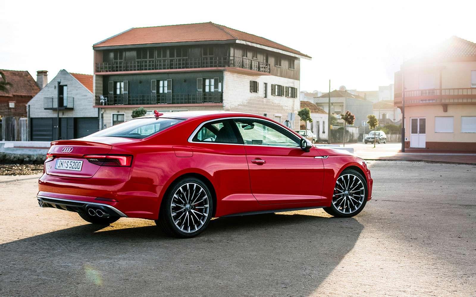 Тест Audi A5Coupe: пока не беспилотник— фото 631309