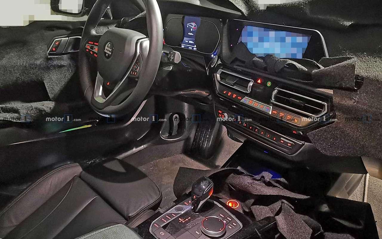 Новый BMW 1-й серии получит салон от3-й серии— фото 949425