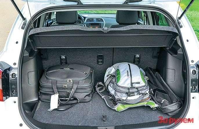 Suzuki New SX4 багажник