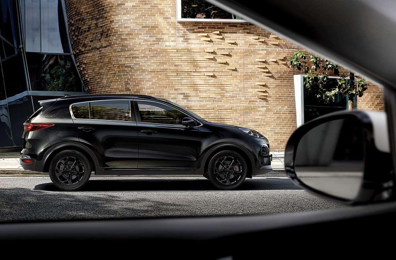 KiaSportage Black Edition— новая версия— фото 1204032