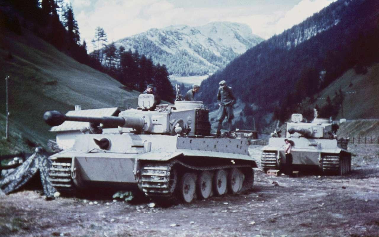 Немецкий «Тигр» против нашего ИС-2— битва технологий— фото 952544