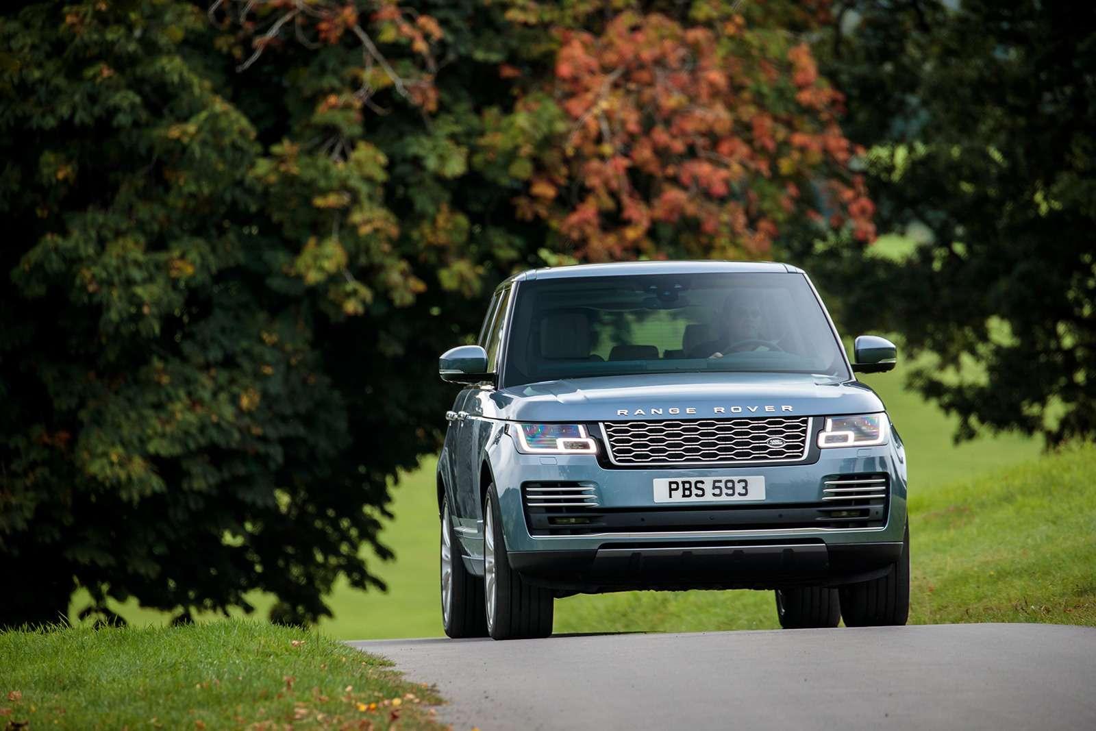 Обновленный Range Rover— ищем изменения слупой— фото 803912