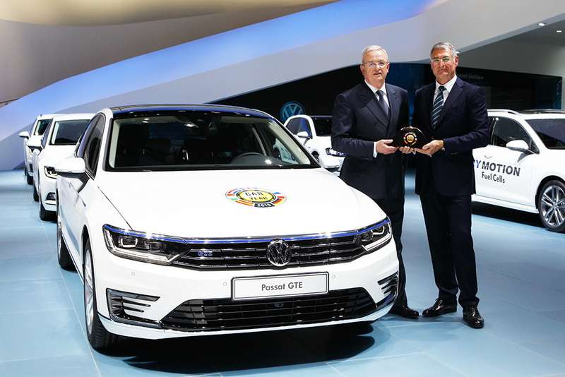Der neue Passat ist Car of the Year 2015