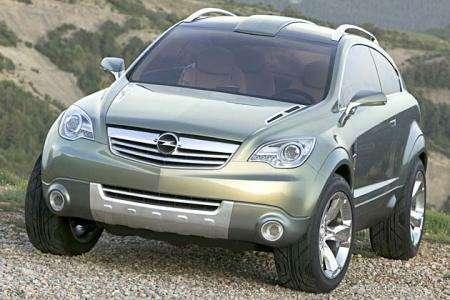 Новинки Франкфурта: будущий Opel Frontera— фото 105476