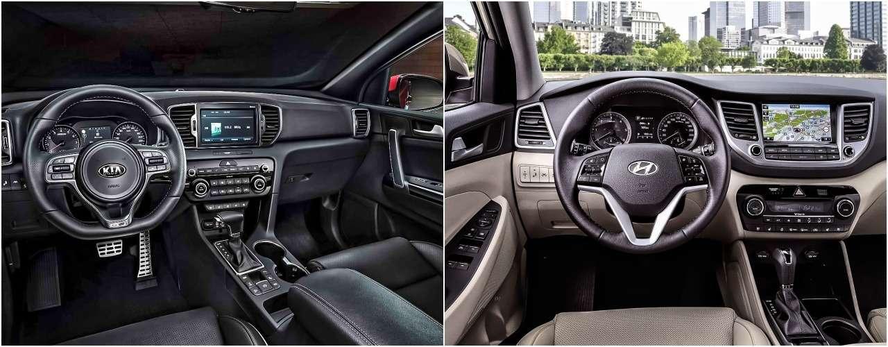 Hyundai Tucson или Kia Sportage: какой кроссовер выбрать?— фото 856239