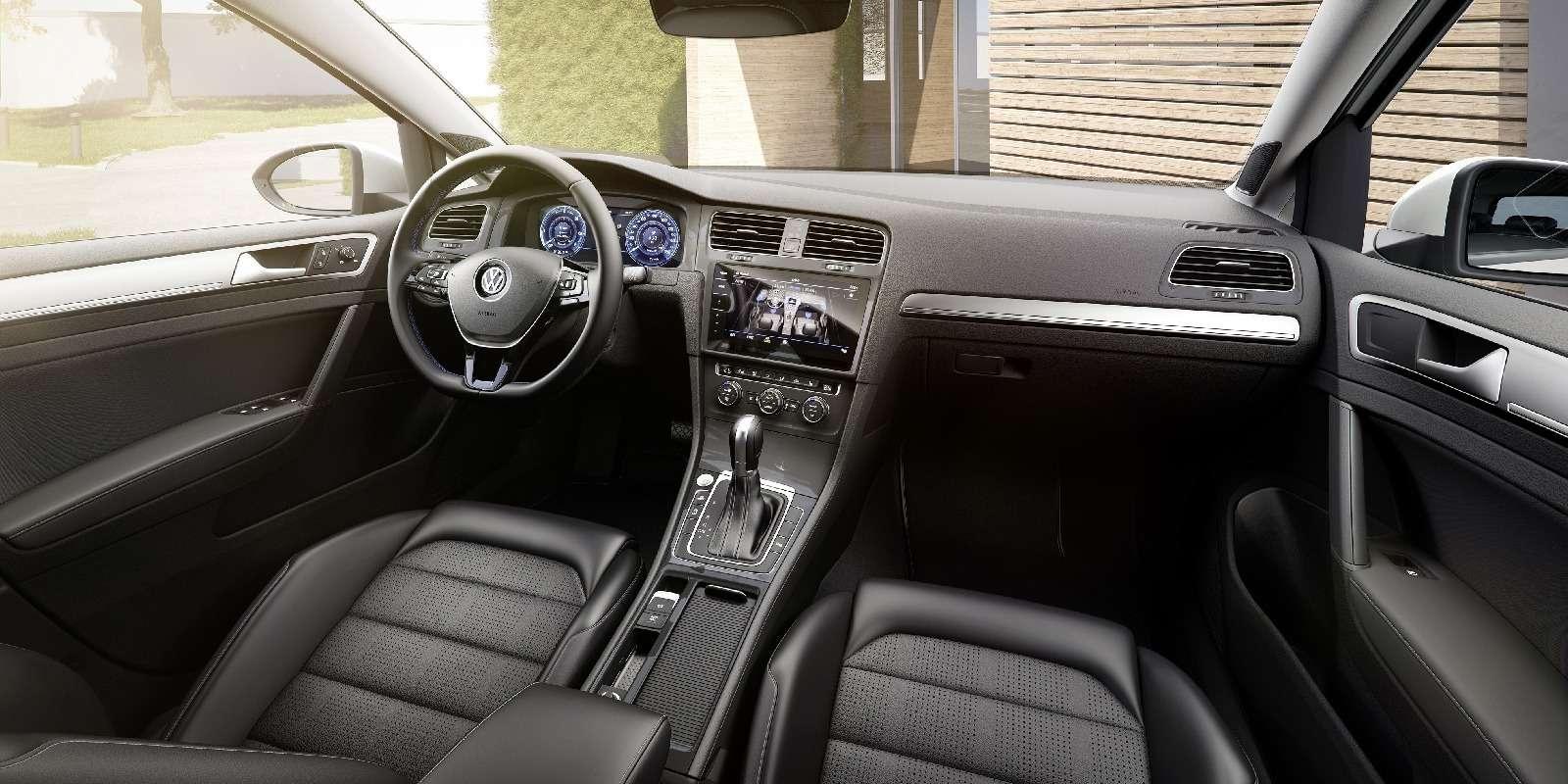 Озеленитель имиджа: Volkswagen обновил электромобиль e-Golf— фото 665351