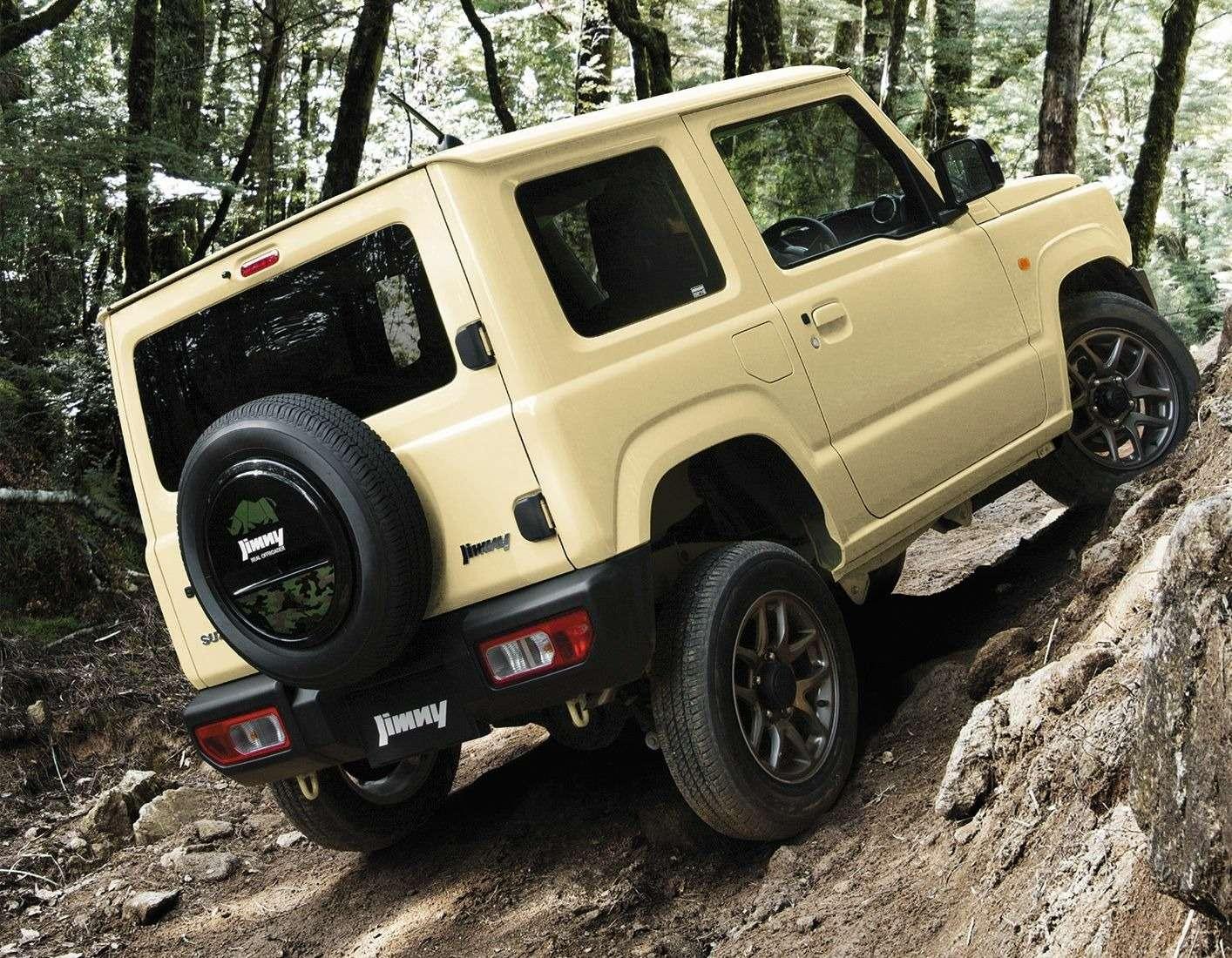 Новый Suzuki Jimny: объявлены технические характеристики— фото 884456
