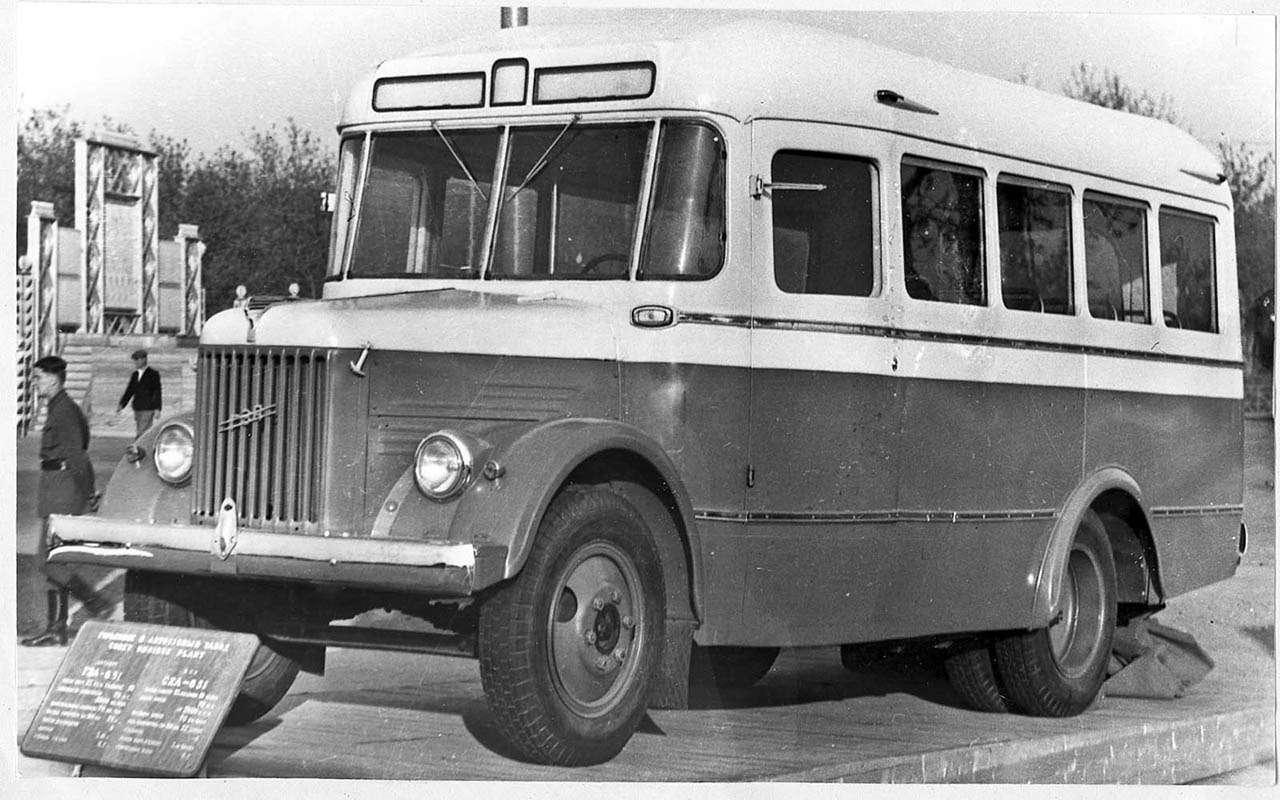 Автобусы изСССР— серийные иэкспериментальные— фото 1035344