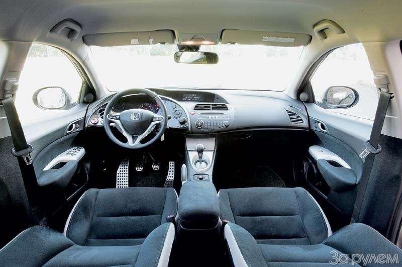 Тест Peugeot 307, Honda Civic. Берегитесь, лентяи!— фото 66521