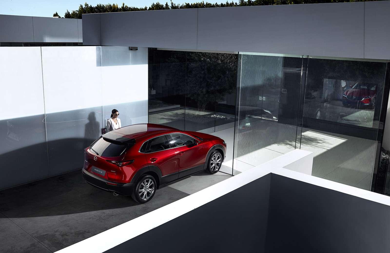 Mazda показала новый кроссовер— ждем его вРоссии— фото 954636