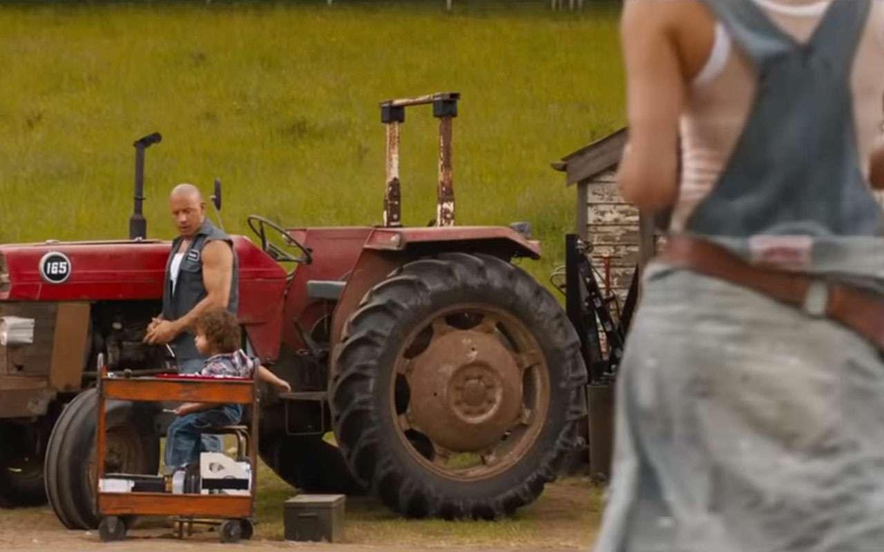 Первый трейлер «Форсажа 9»: Вин Дизель теперь тракторист