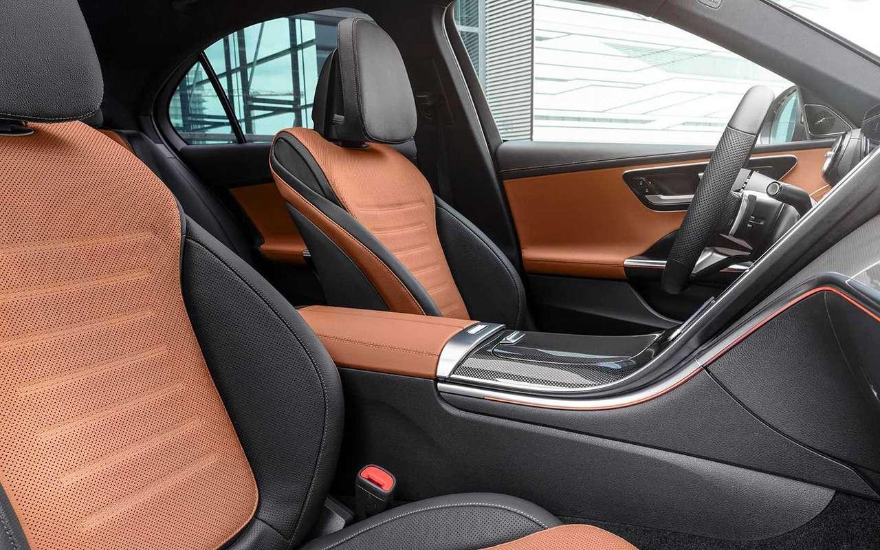 Новый Mercedes-Benz C-класс: lite-версия «эски»— фото 1226023