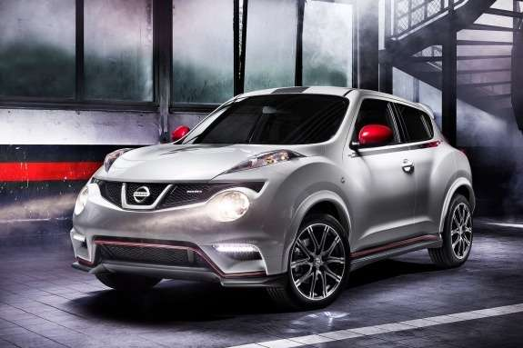 Nissan Juke Nismo side-front view